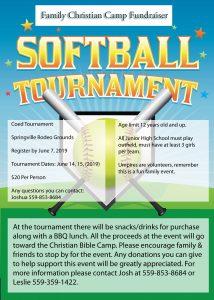 Softball Tournament @ Softball Tournament