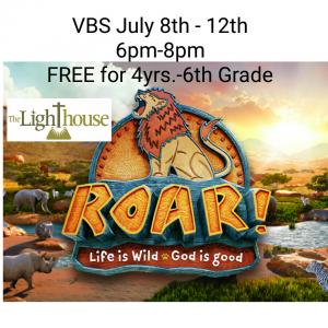 VBS- Lighthouse in Springville @ Lighthouse VBS - ROAR