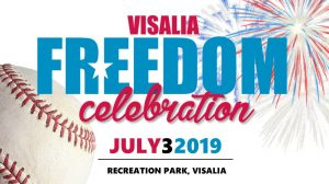 Visalia Freedom Celebration @ Visalia Rawhide / Recreation Park