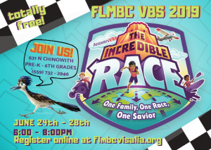 Incredible Race VBS @ First Landmark Missionary Baptist Church