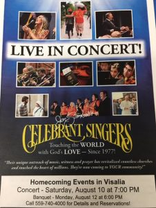 Celebrant Singers 42nd Annual Homecoming Concert @ LJ Williams Theatre