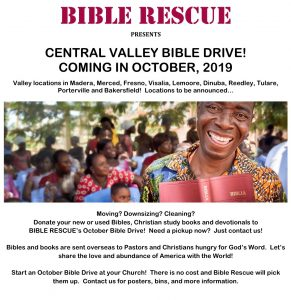 Bible Rescue - Central Valley Bible Drive - Spirit 88 9 & 100 1