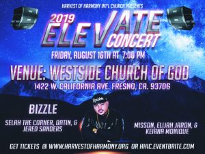 Elevate '19 Concert Featuring Bizzle @ Westside Church of God