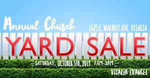 Annual Evangel Yard Sale @ Evangel Assembly of God
