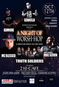 A Night of Worsh-Hop @ 210 Cafe