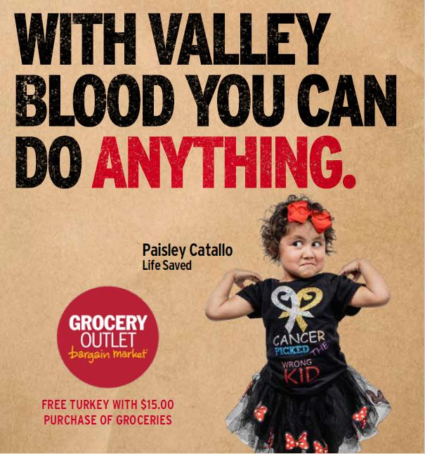 Grocery Outlet Visalia Blood Drive @ Visalia Grocery Outline
