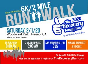 The Recovery Family Run – 5K and 2 Mile Walk/Run @ Woodward Park Mountain View Shelter