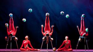 Golden Dragon Acrobats @ The Visalia Fox Theatre